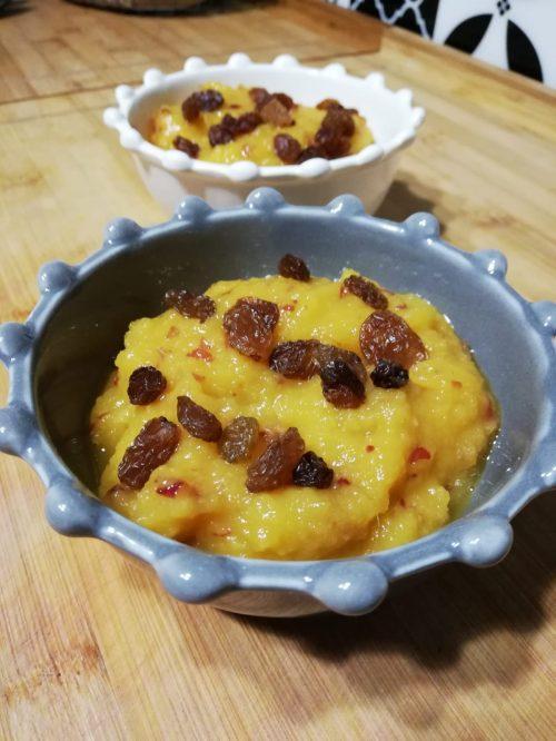 compote mangue crusine